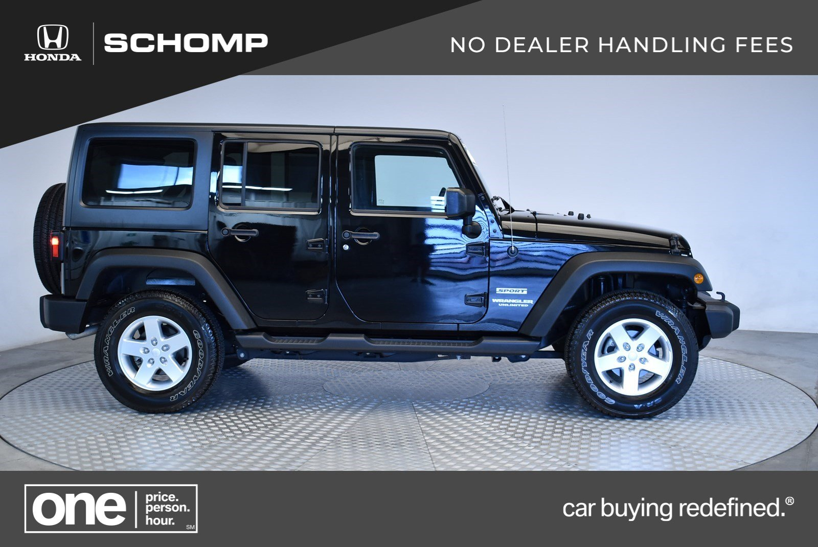 Pre Owned 2015 Jeep Wrangler Unlimited Sport Convertible In 2p9165