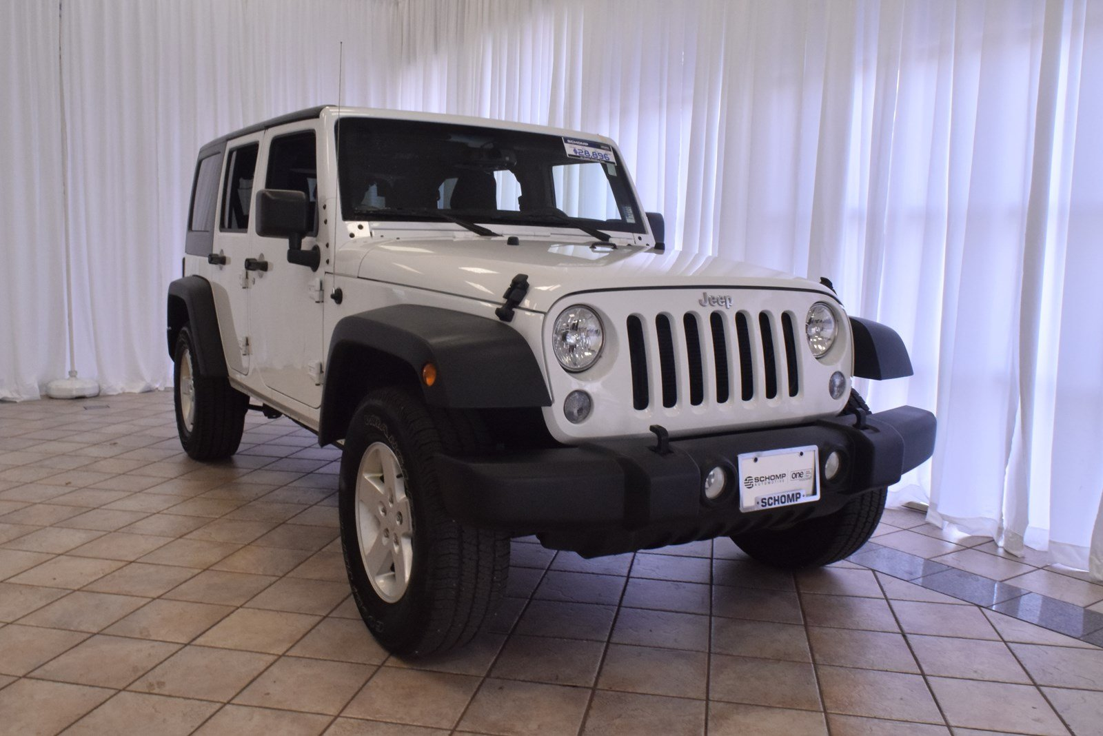 Pre Owned 2016 Jeep Wrangler Unlimited Sport