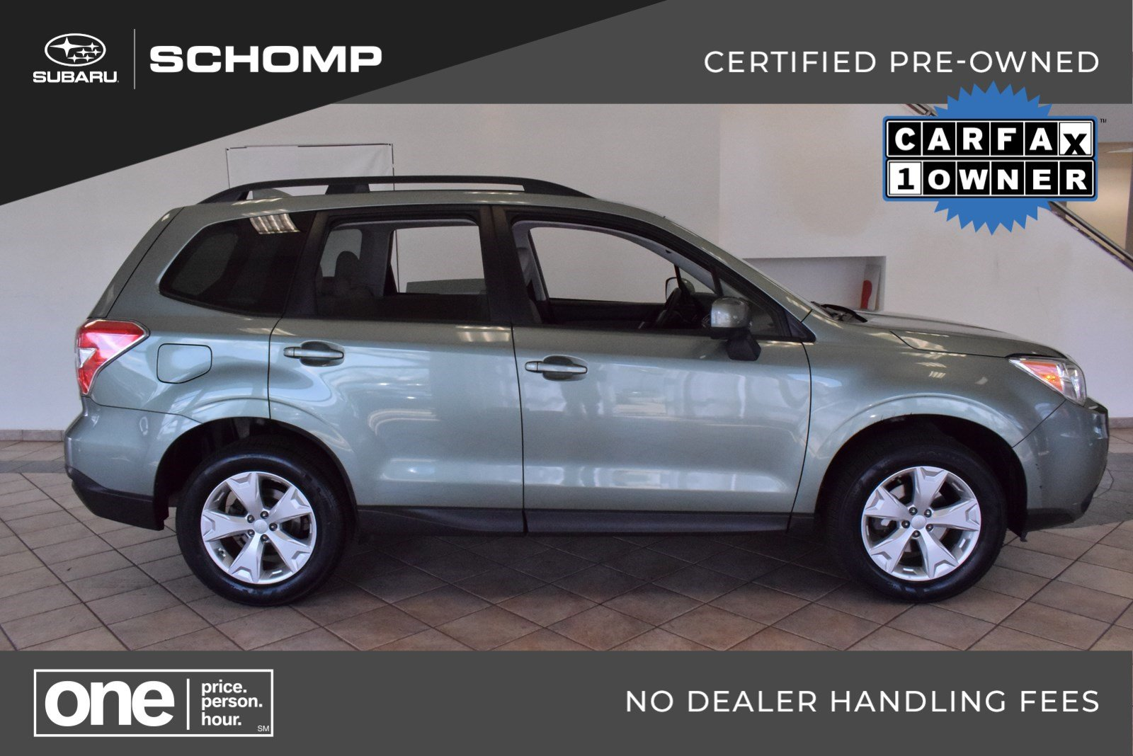 Certified Pre Owned 2016 Subaru Forester 2 5i Premium