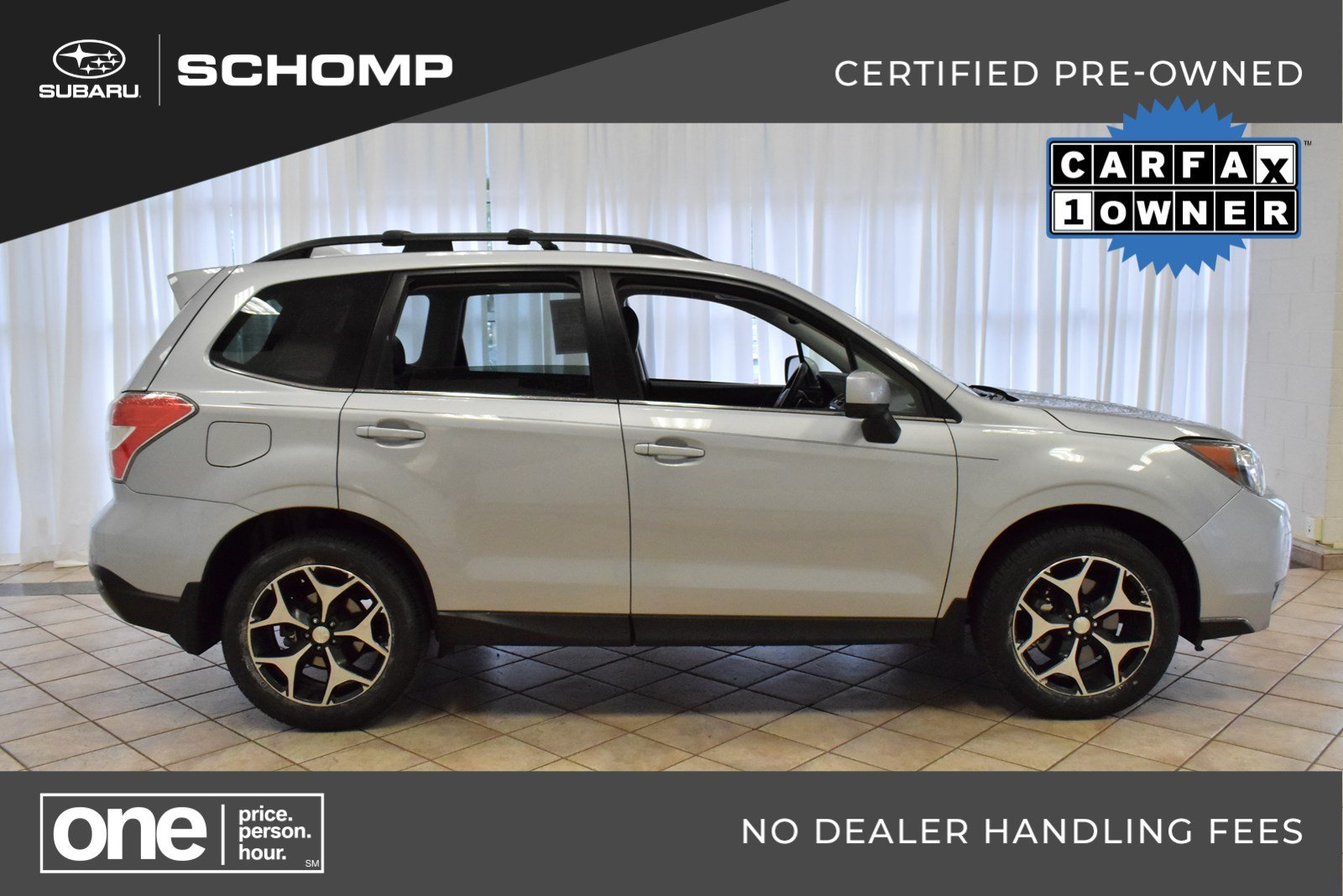 Certified Pre Owned 2016 Subaru Forester 2 0xt Premium