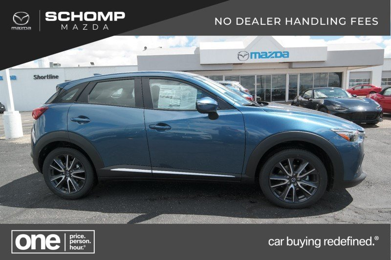 Mazda Cx 3 >> New 2018 Mazda Cx 3 Grand Touring Awd