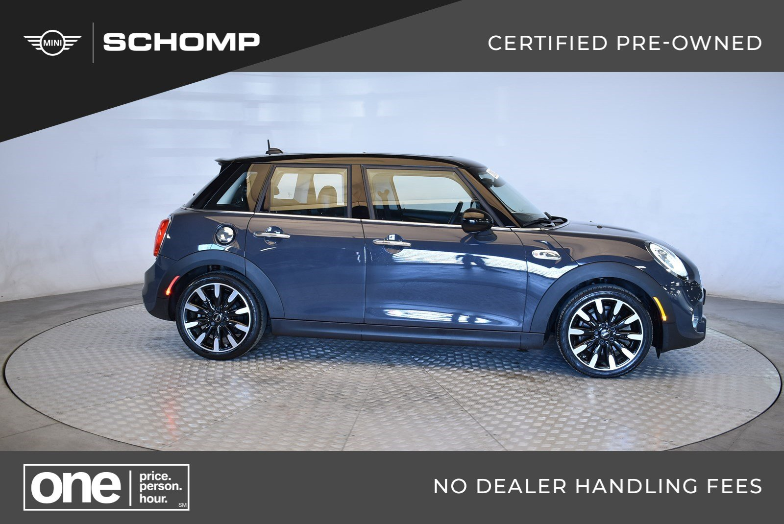 Certified Pre Owned 2016 Mini Cooper Hardtop 4 Door S